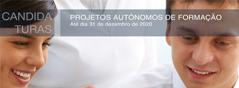 Projetos autónomos de formação